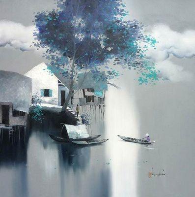 Вьетнамские художники. dang can