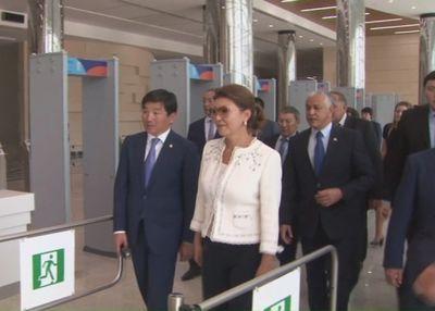 Вице-премьер рк дарига назарбаева проверила готовность объектов универсиады