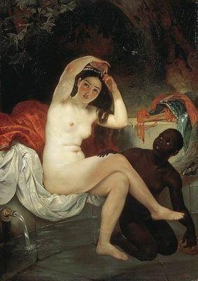 Вирсавия картина брюллова описание
