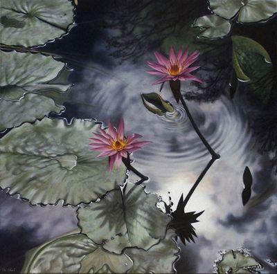 Водная рябь на картинах от австралийской художницы аи шах
