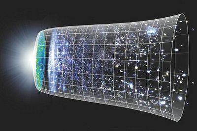 Вселенная с обратным ходом времени может существовать параллельно с нашей