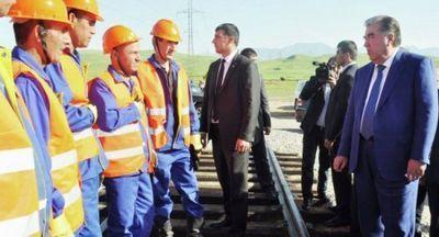 Втаджикистане запущена новая железная дорога, соединившая югреспублики сцентром - «экономика»