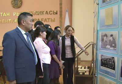 Выставка, посвященная айтбаю и садыкбеку хангельдиным, открылась в алматы