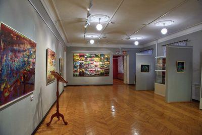 Выставка шведской художницы открылась в одном из музеев вко