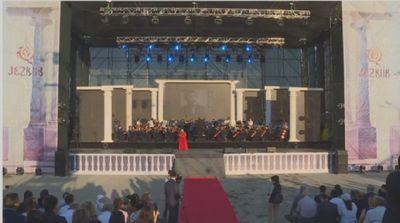 Выступлением именитых солистов завершился фестиваль «жезкиік»