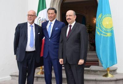 Здание посольства казахстана открыли в мехико