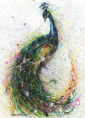 Животные китайского художника hua tunan